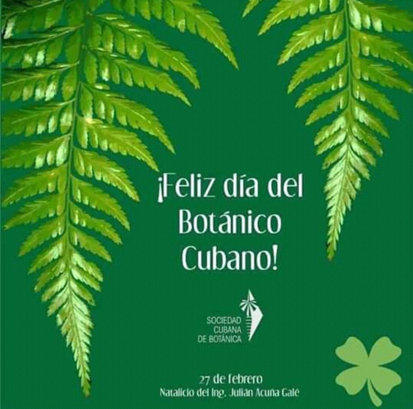 Día del Botánico Cubano